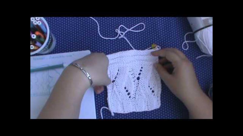 AlinaVjazet пуловер Лабиринты снов. Часть 1. Расчеты. Перед и спинка.