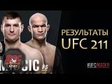 РЕЗУЛЬТАТЫ UFC 211. Титульные бои - Миочич vs Дос Сантос, Енджейчик vs Андраде (#ufcinsider)