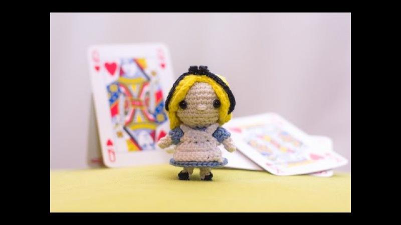 Amigurumi   como hacer Alicia en el pais de las maravillas en crochet   Bibiana Mejia Crochet 2017