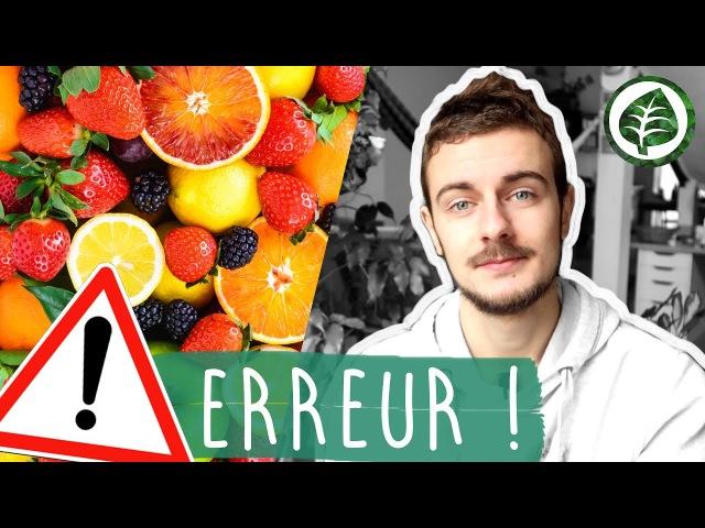 La plus grosse ERREUR quand on MANGE DES FRUITS, la fais-tu ?