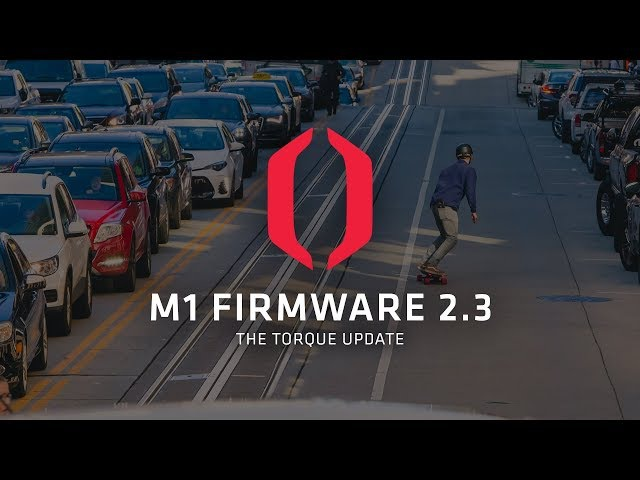 Introducing M1 Firmware 2.3