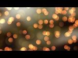 Small Little Orange Lights 4K Relaxing Screensaver