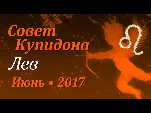 Лев, совет Купидона на июнь 2017. Любовный гороскоп.