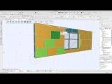 ArchiCAD tutorial STENI facade