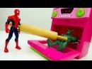 Видео игры 🍴 Голодные войны ЧеловекПАУК против Зелёного Гоблина Супергерои