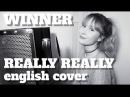WINNER - REALLY REALLY English Cover