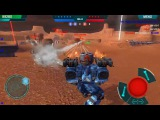 War Robots Test Server 2.9.2 (79) #12 Schnelle Runde - TempestAncile Vs Trident Fury