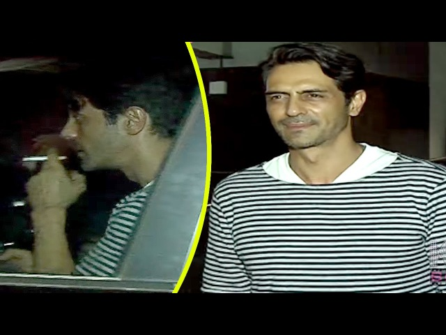 Arjun Rampal CAUGHT SMOKING At Hakkasan Restaurant