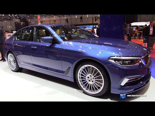 2018 Alpina B5 BiTurbo Limousine - Exterior Interior Walkaround - Debut at 2017 Geneva Motor Show