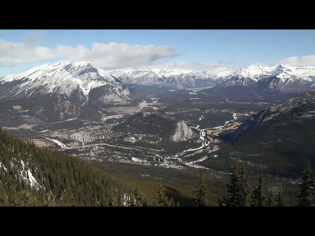 Canon 550D Rebel T2i Banff footage