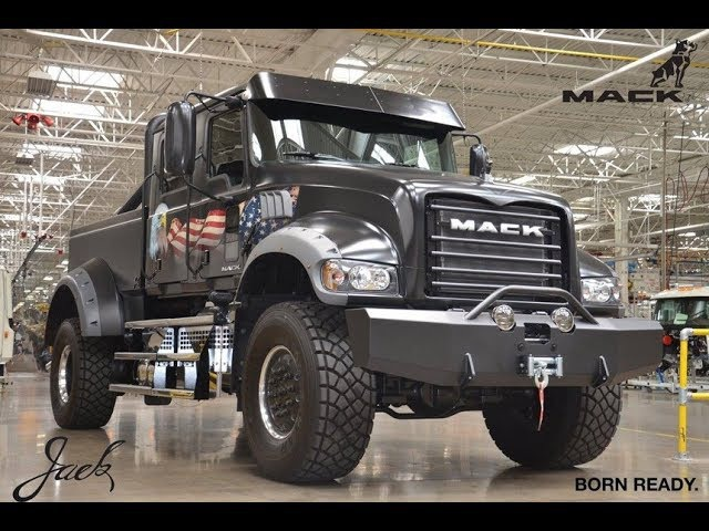 Jack Mack - pickup truck. Expocam 2017. Montreal Trucks show. Canada.