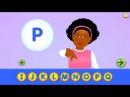 ABC Starfall ABCs Alphabet for deaf-mutes