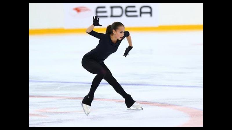Алина ЗАГИТОВА Открытые Прокаты 2017 ПП Alina ZAGITOVA Free Skating season 2017 2018