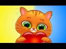 ГОВОРЯЩИЙ КОТЕНОК БУБУ моя любимая кошечка игровой мультик для детей УШАСТИК К ...