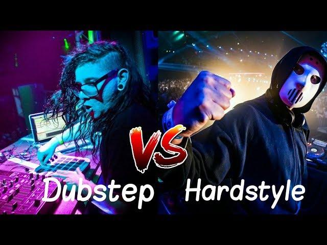 HARDSTYLE VS DUBSTEP
