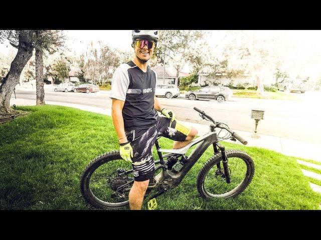 Jon Olsson Testing a $10 000 E Bike vlog² 111