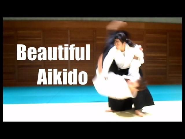 Сильная и красивая Хироми Мацуока - 4 дан Айкидо. Часть 2. Босоногий самурай. Афиша бесплатных тренировок айкидо naked_samurai