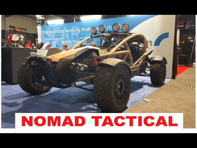 Desert recon vehicle - Ariel Nomad tactical :SEMA 2016