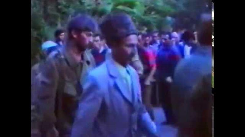 Зикр чеченских добровольцев в Абхазии (1992 г.)