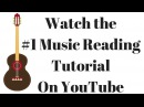 How to Read Music For Guitar -100 On Screen Exercises and Tutorials