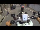 Motorcycle Police chases helmet cam Brazil Part 1
