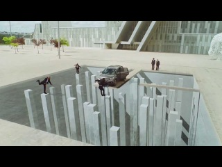 Honda commercial with back scenes