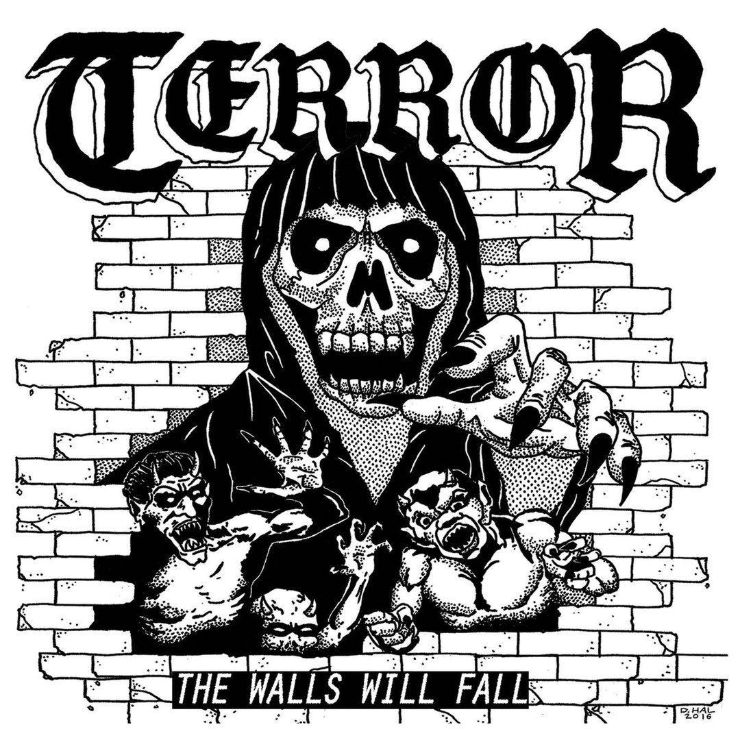 Terror - The Walls Will Fall [EP] (2017)