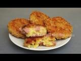 Обалденный перекус между просмотром фильма или сериала.  Котлеты из сосисок и сыра.
