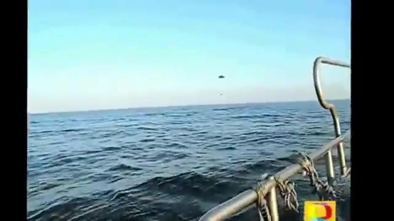 Обычные Рыбаки стали очевидцами НЛО! Реальные съёмки! Жесть!