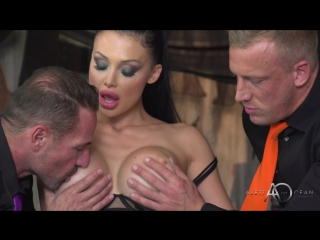 Aletta Ocean (Black Leather Double Pleasure)[2017, Anal, Double Penetration, HD 1080p]