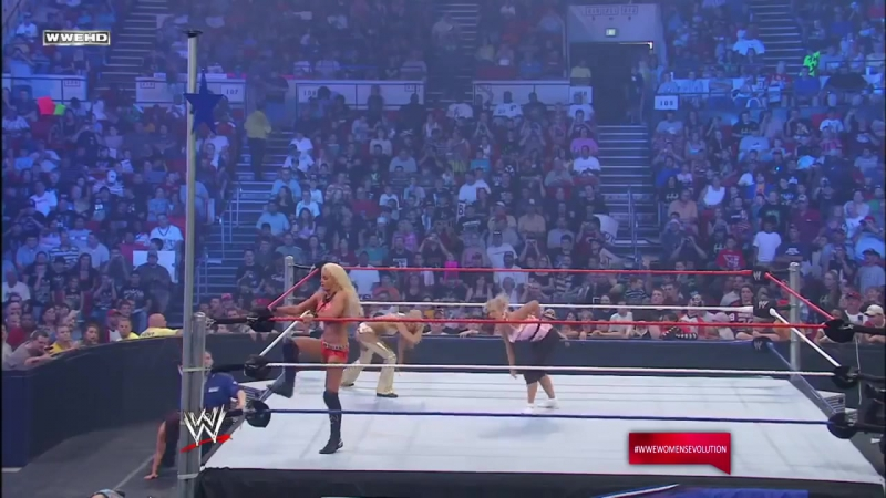 [WWE QTV]SmackDown]04.07.2008]Golden Dreams]McCool vs. Victoria]☆vs☆[Kelly Kelly vs Maryse vs Cherry]vk.com/wwe_restling_qt