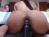 Huge dildo webcam teen