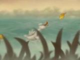 Камиль Сен-Санс Карнавал животных - Лебедь - мультфильм