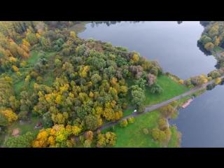 Покровское-Стрешнево с дрона - DJI Phantom 4 aerial view