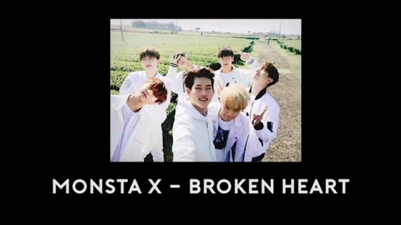 [VK][29.04.2017] Monsta X - Broken Heart 3D