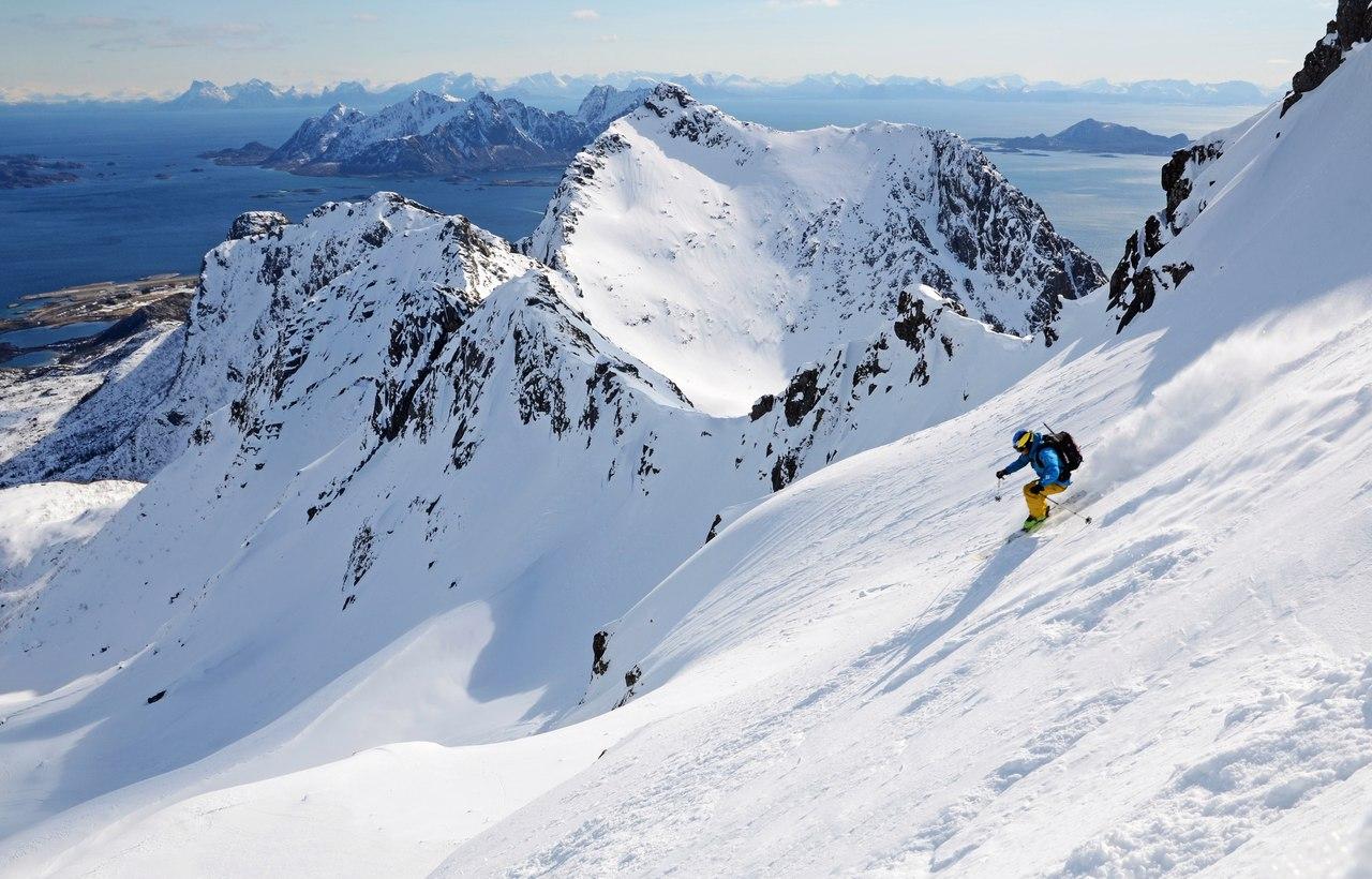 Лофонтены! Ски-тур и фрирайд в Северной Норвегии