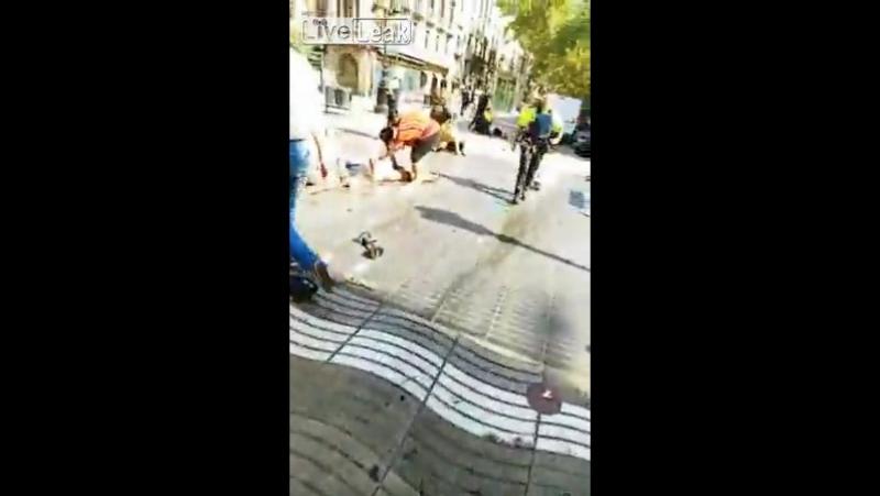 Последствия теракта в Барселоне