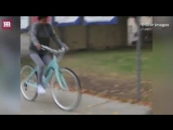 November 1: Video of Justin and Selena Gomez seen biking in Los Angeles, CA.