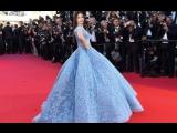 Aishwarya Rai Bachchan In Michael Cinco At The 70th Cannes Film Festival 2017