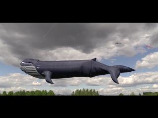 Огромный кит над Москвой