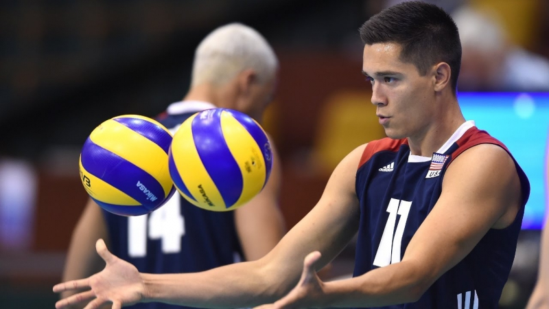 TOP 10 Best Volleyball Blocks by Micah Christenson (USA) - Volleyball best moments