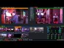 Пример съемки концерта на IP оборудование. 3 статичных камеры PTZ