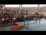 Замечательное выступление 91-летней гимнастки!