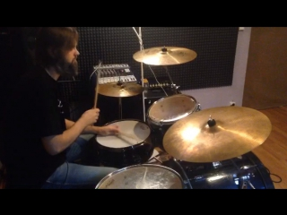 Double Paradiddle drum solo/ Andrey Pristavka