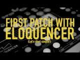 Winter Modular Eloquencer, ALM Akemies Taiko & ER-301 // Eurorack Patch