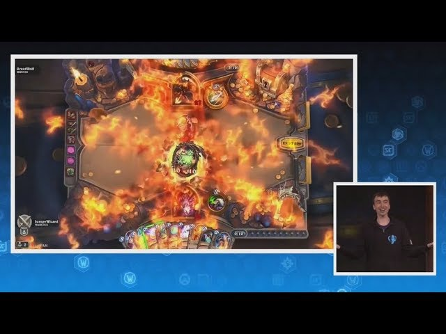 Rin, the First Disciple/Azari, the Devourer Gameplay Animations - Hearthstone Kobolds Catacombs