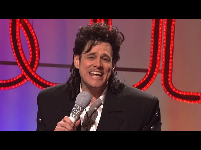 Jim Carrey top 10 singing moments 2 - Tom Jones, A Ha, Michael Bolton, etc and other funny moments