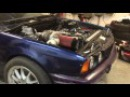 World's first BMW E34 MB M104 Turbo