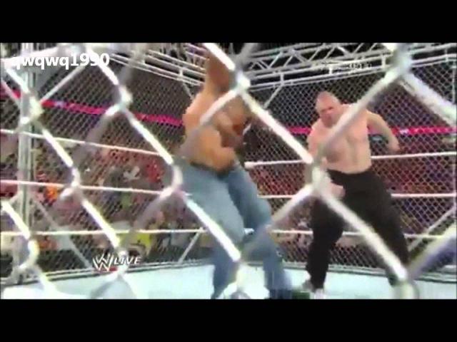 Brock Lesnar vs Triple H _ 720 HD !