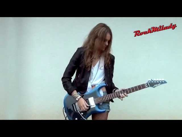 Dire Straits - Sultans Of Swing guitar solo (covered by RockMilady)